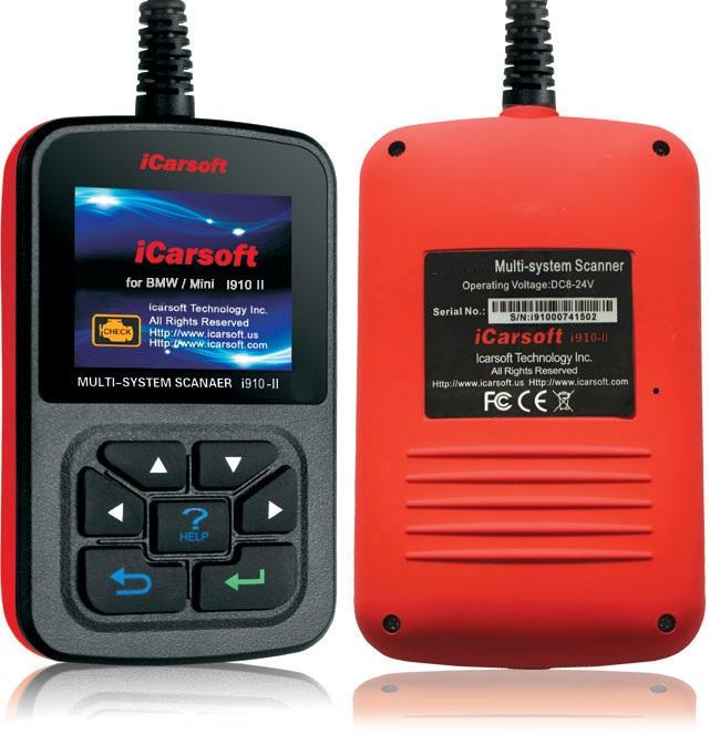 Icarsoft I910 Ii F 252 R Bmw Service R 252 Ckstellung Diagnose E39